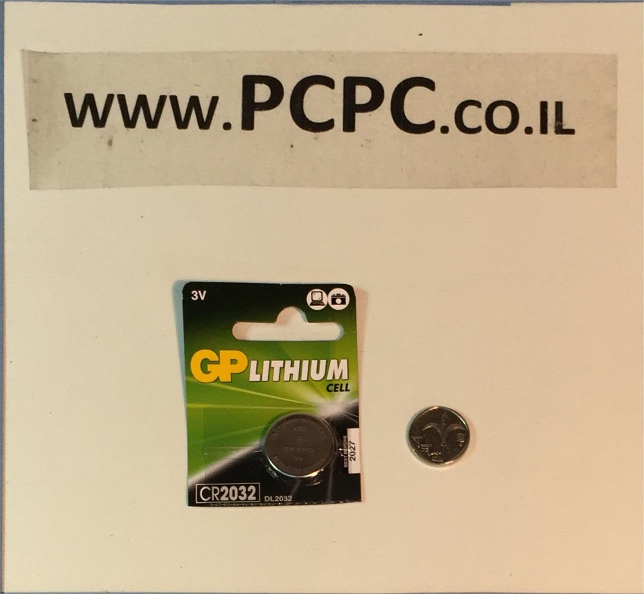 סוללה ליתיום כפתורGP CR 2032