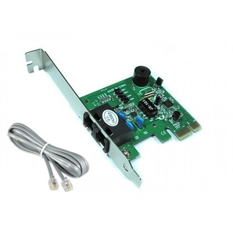 כרטיס פנימי PCI פקס מודם  56K     מודם תוכנה