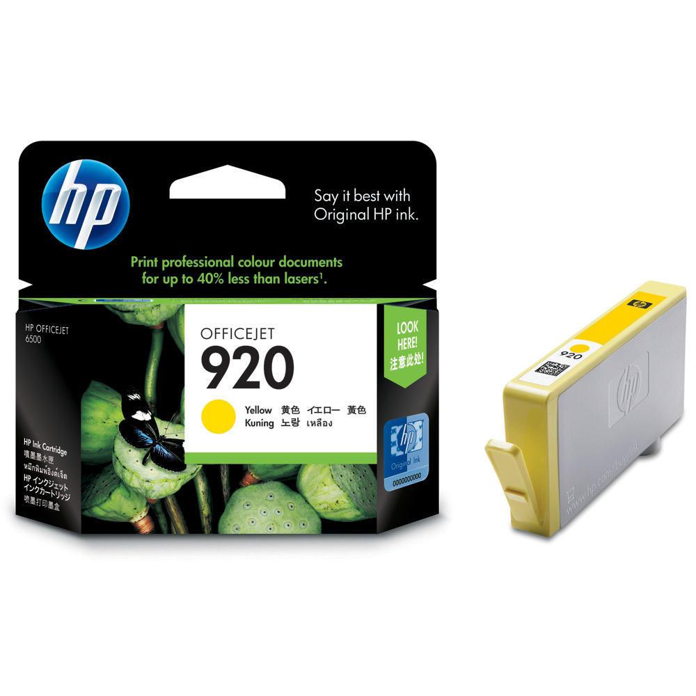 ראש דיו מקורי צהוב -HP 920XL