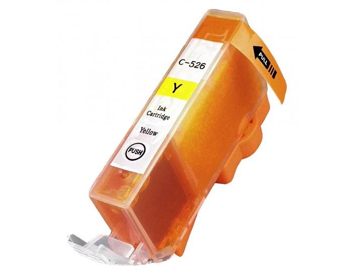 מיכל דיו תחליפי צהוב CANON CLI 526 IP 4850