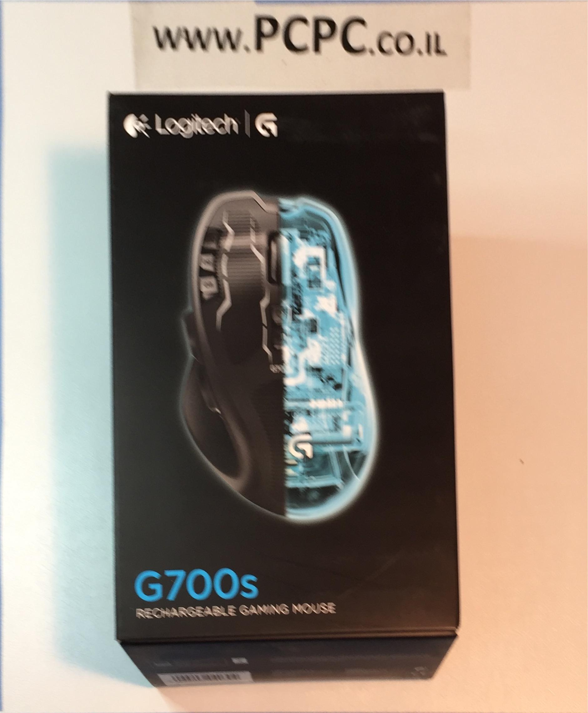 עכבר אלחוטי נטען לגיימרים LOGITECH G700S