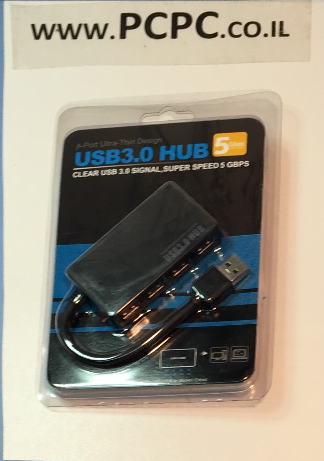 יציאות 4     HUB-USB3