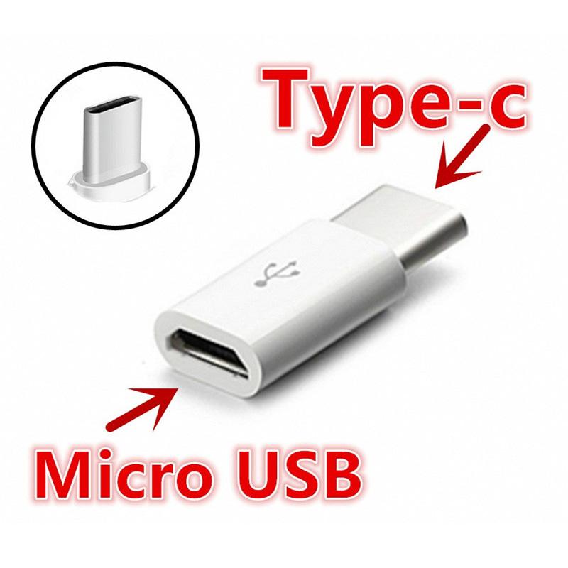 מתאם נקבה MICRO USB2 לזכר TYPE C