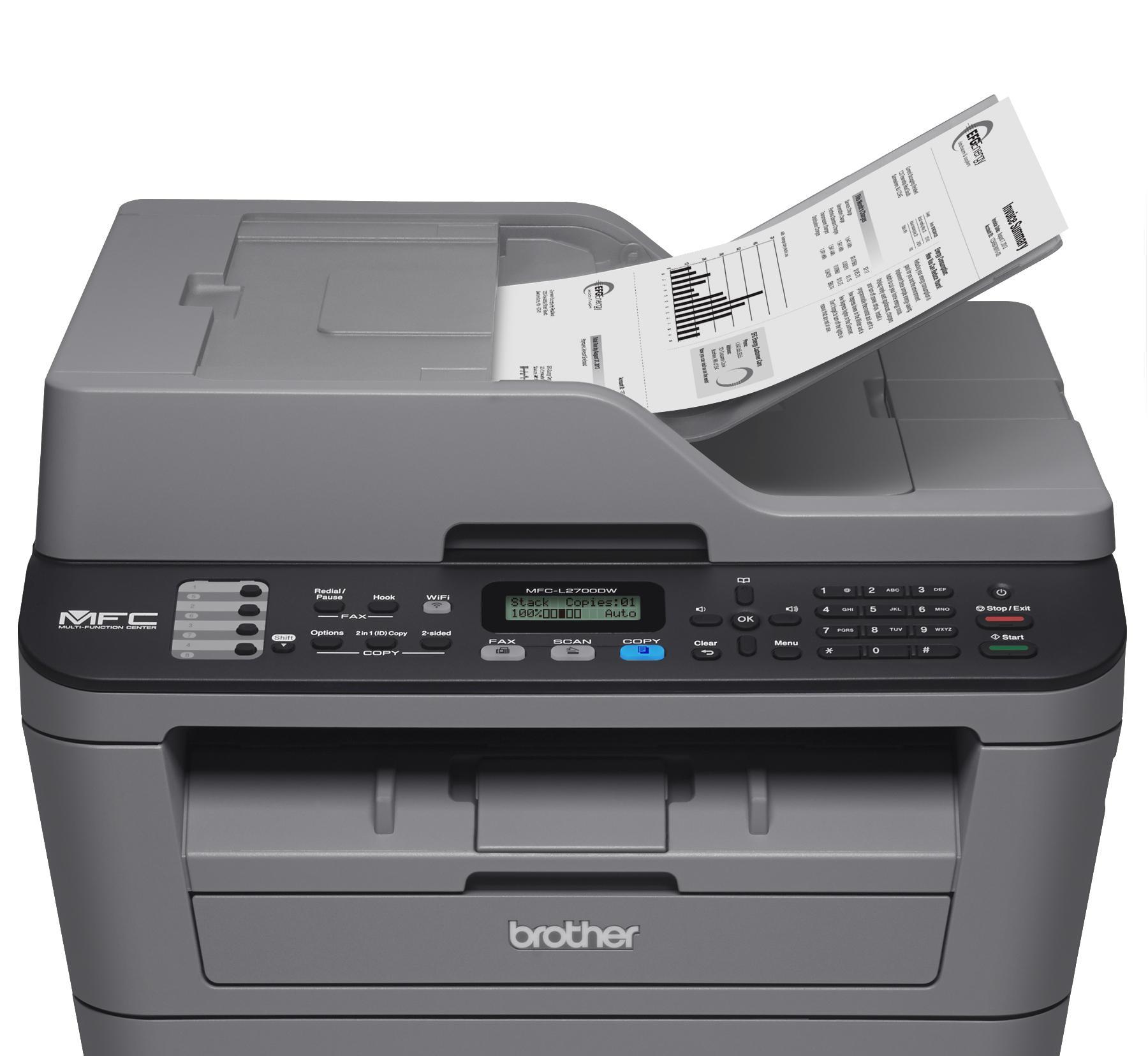 מדפסת משולבת   BROTHER MFC L2700DW  אלחוטי  VI