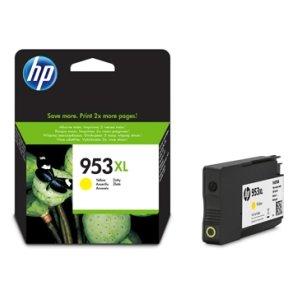 ראש דיו מקורי צהוב HP  953XL 1.6K 8710/8720