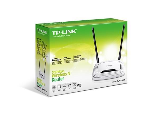 נתב-ראוטר אלחוטי תקן  TP-LINK TL-WR841N 300M  N
