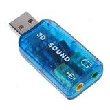 כרטיס קול USB חיצוני 4.1 עם כבל קצר SMART COM