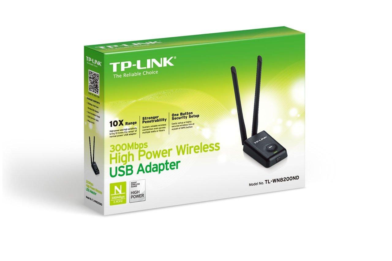 כרטיס רשת אלחוטי USB דגם TP LINK WN8200N 300M 2T2