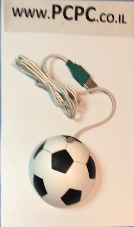 עכבר אופטי USB כדורגל