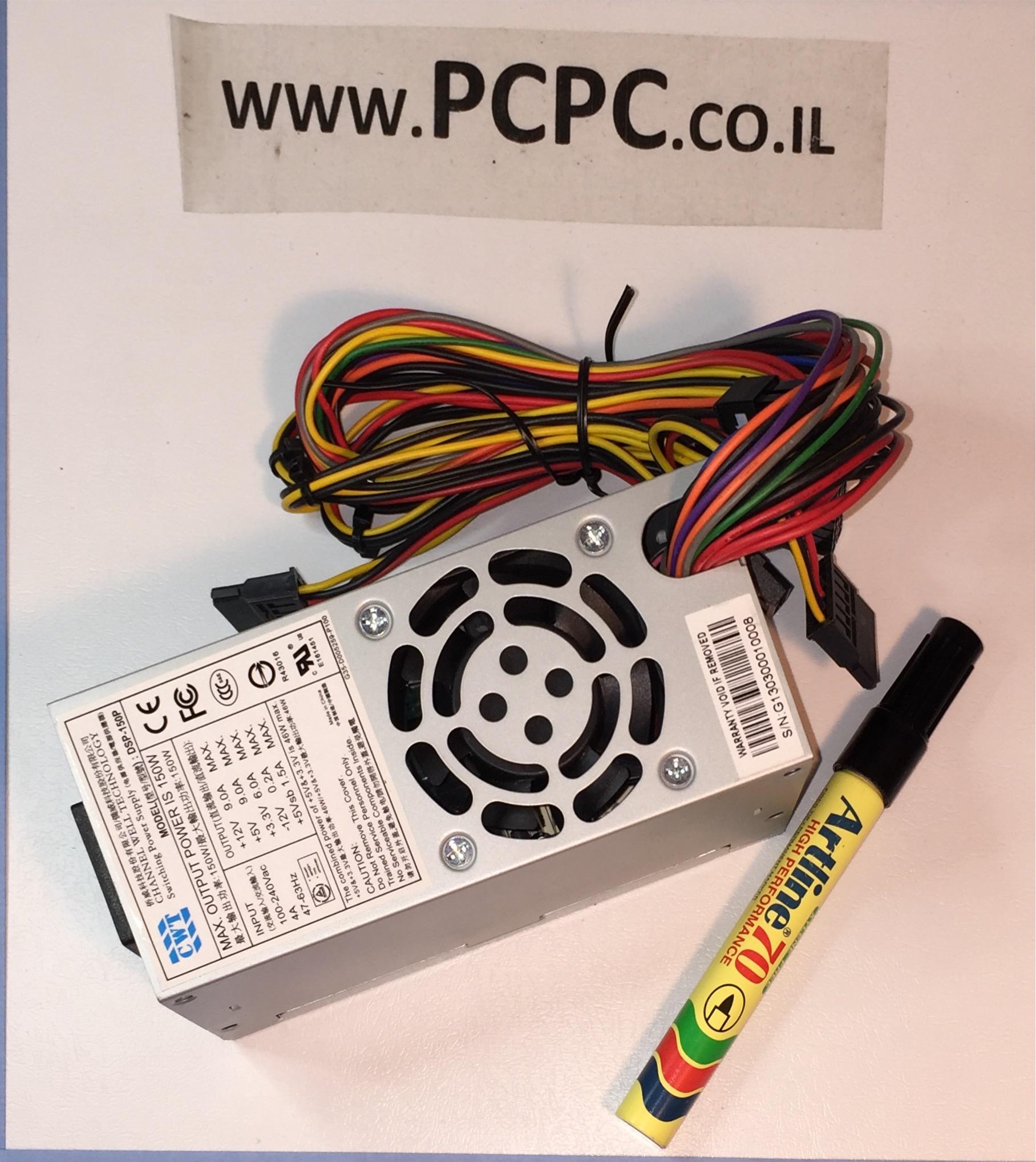 ספק  כוח למחשב נייח קטן CWT  150W   6719-8989