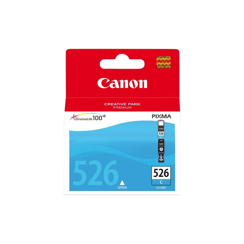 מיכל דיו מקורי כחול CANON CLI-526C IP-4850