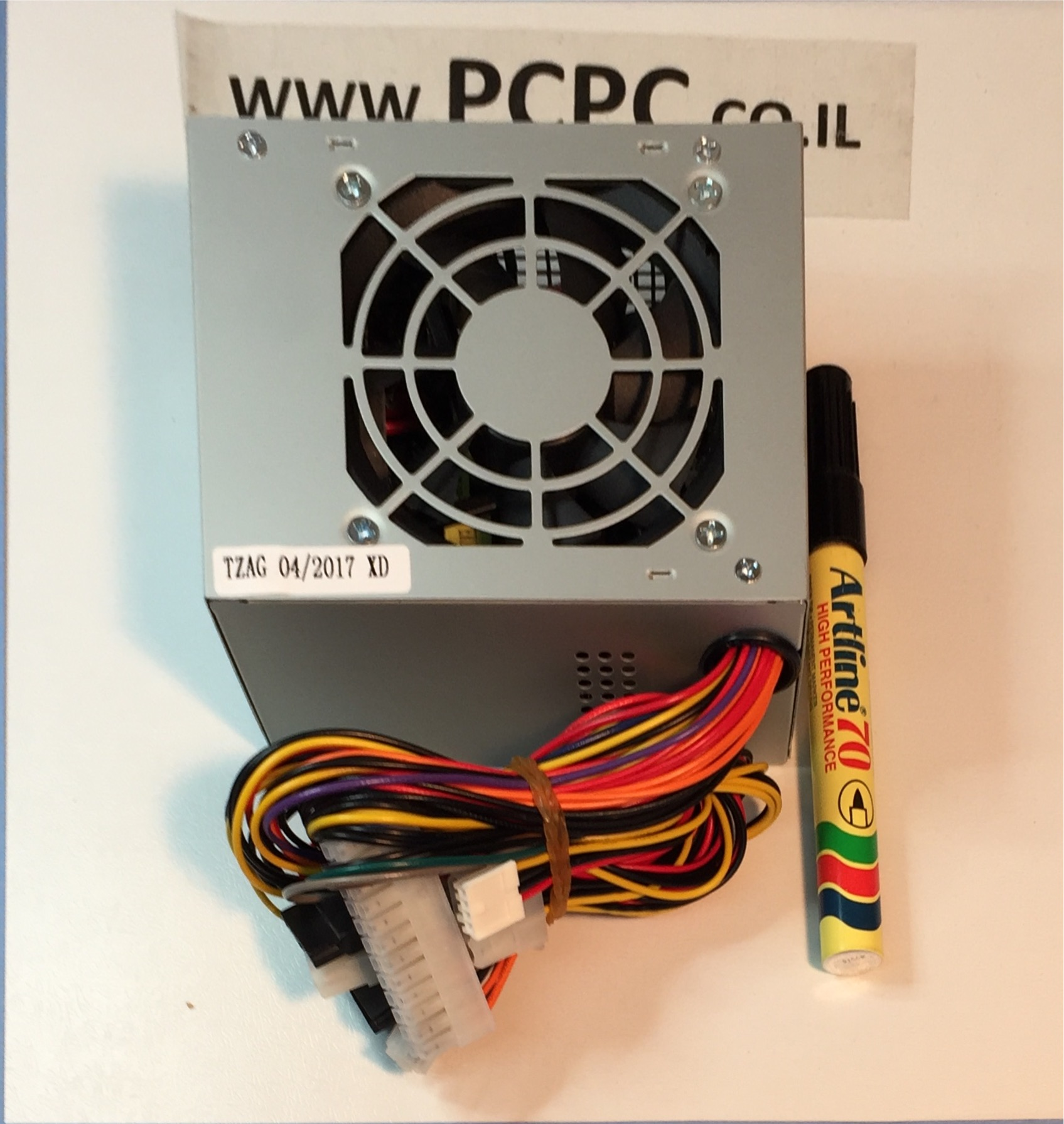 ספק כח למחשב נייח AB POWER MICRO ATX 500W P-4