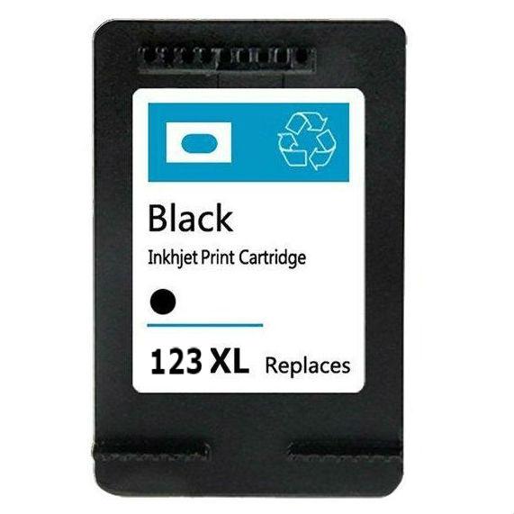 דיו תחליפי HP 123XL שחור