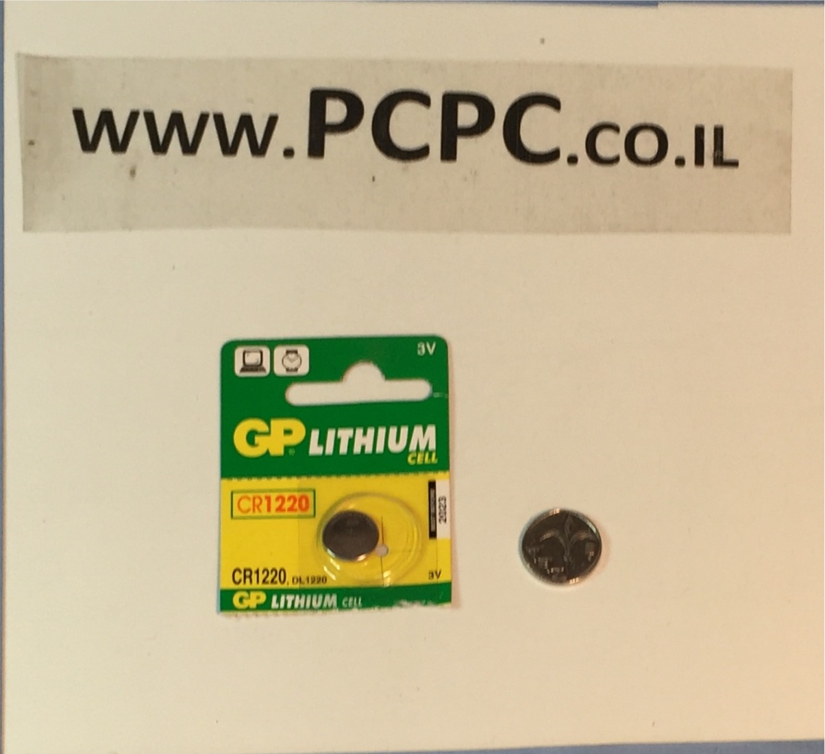 סוללה ליתיום כפתורGP CR 1220