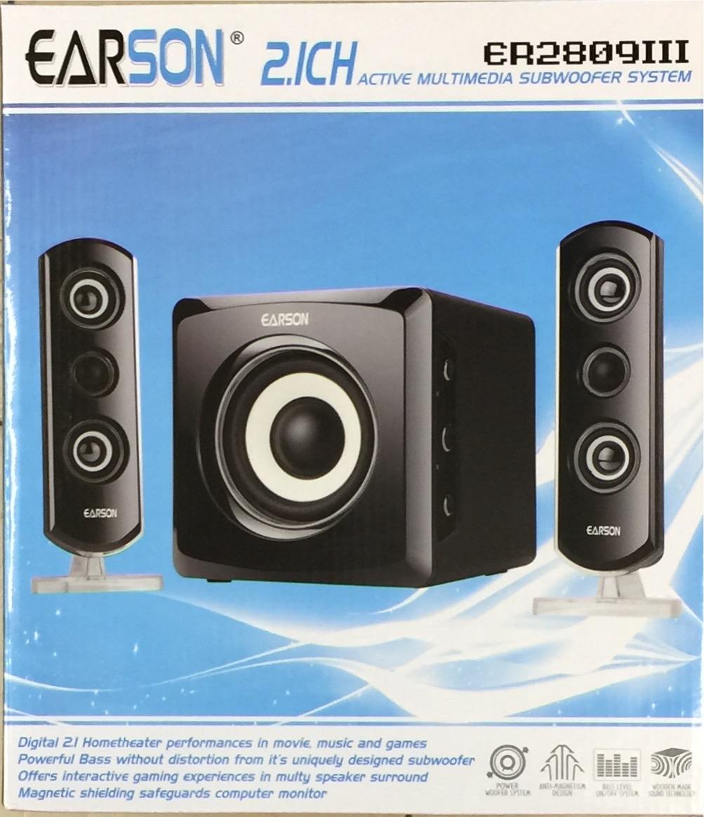 רמקולים למחשב  EARON SD\USB  2.1  ER2809