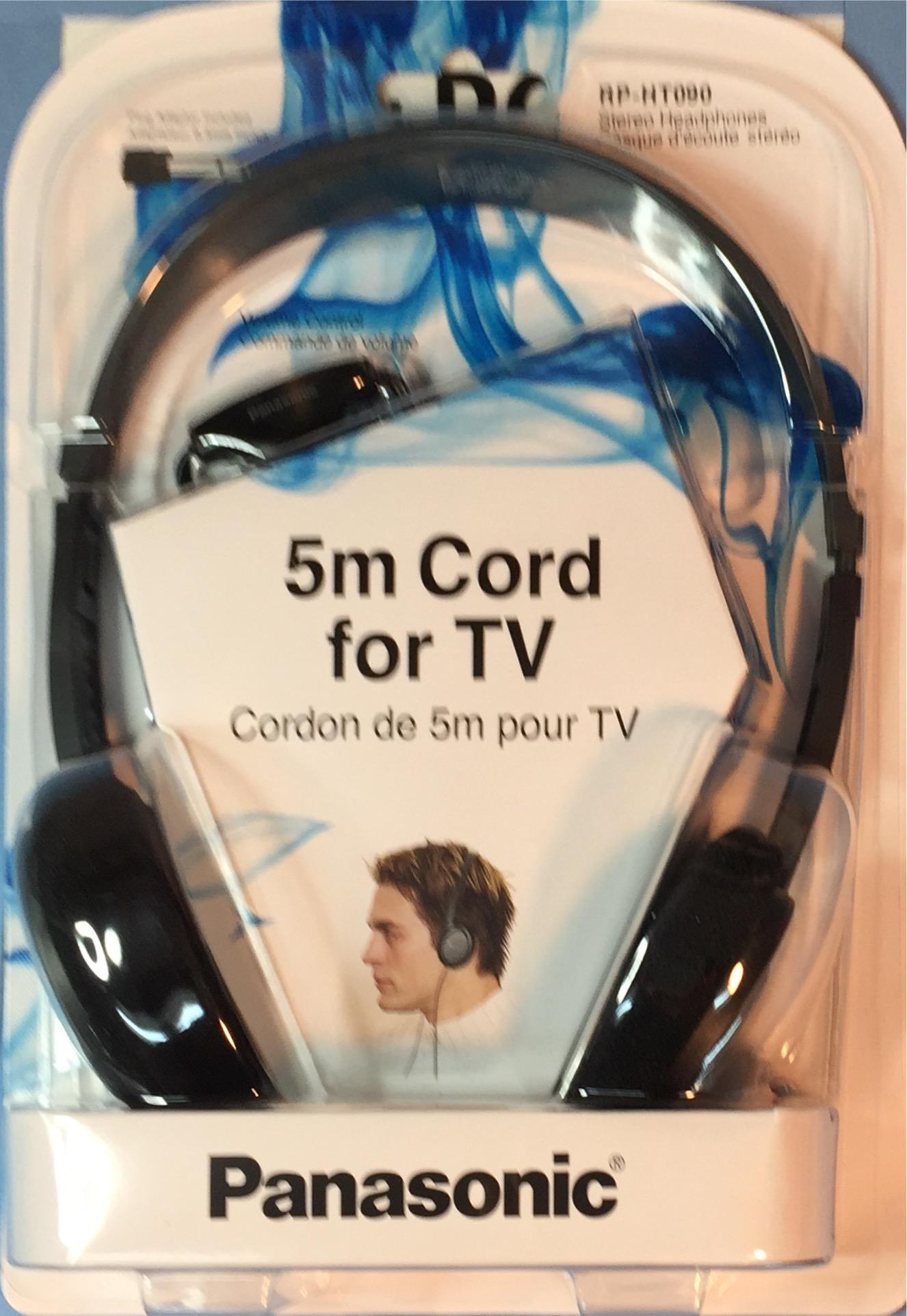 אוזניות PANASONIC TV RP-HT090E-H