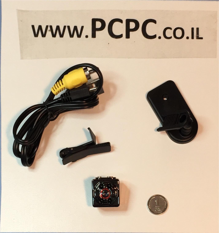 מצלמת וידאו זעירה כמו GO PRO SQ8