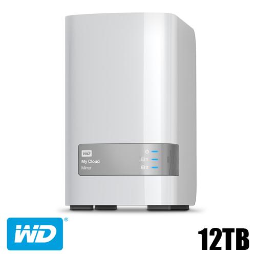 דיסק קשיח חיצוני WD CLOUD MIRROR 12TB