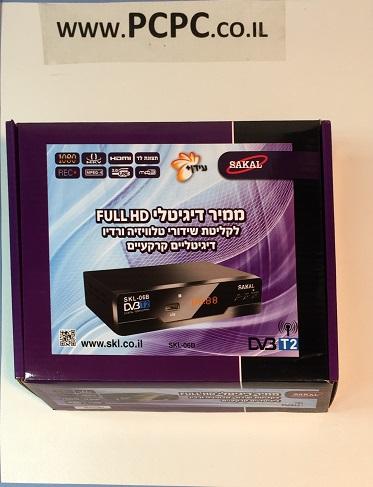 ממיר דיגיטלי עידן פלוס SAKAL SKL 06B DVB-T2