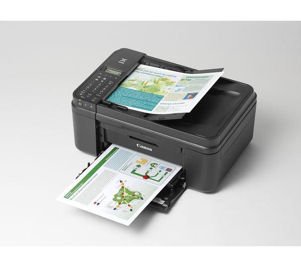 מדפסת הזרקת דיו אלחוטית משולבת  כולל פקס CANON MX 475