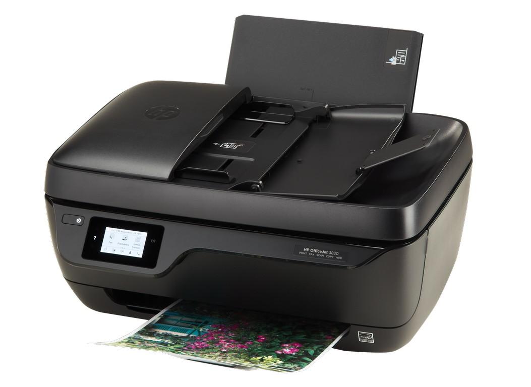 מדפסת הזרקת דיו משולבת HP AIO DESKJET 3830