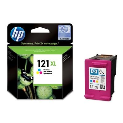 ראש דיו מקורי צבעוני HP  121XL