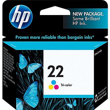 ראש דיו מקורי צבעוני HP 22
