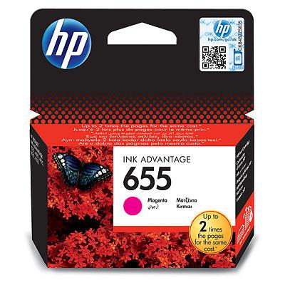 ראש דיו מקורי אדום HP 655