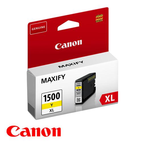 ראש דיו מקורי צהוב  CANON  PGI-1500XL
