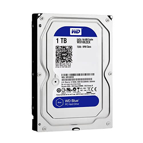 WESTERN DIGITAL   7200PM  64MB 1000GB SATA 3 דיסק קשיח
