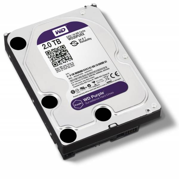 דיסק קשיח WESTERN  DIGITAL 7200 RPM 64MB SATA 3 2000GB 3.5