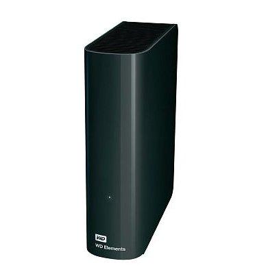 דיסק קשיח חיצוני  WD ELEMENTS  USB 3    3.5 4TB