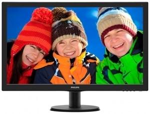 מסך למחשב PHILIPS 240V5QDSB 23.8   HDMI-DVI-VGA