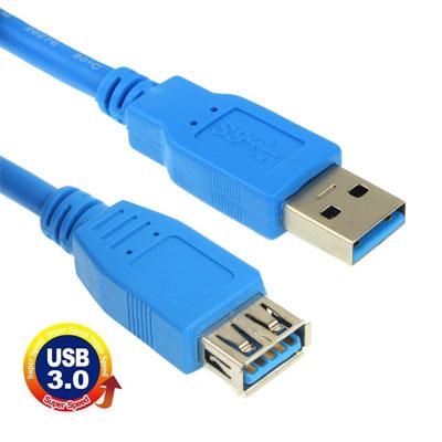 כבל מאריך USB 3 זכר/נקבה 1.8 מטר