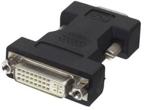 אדפטור DVI נקבה ל  VGA זכר