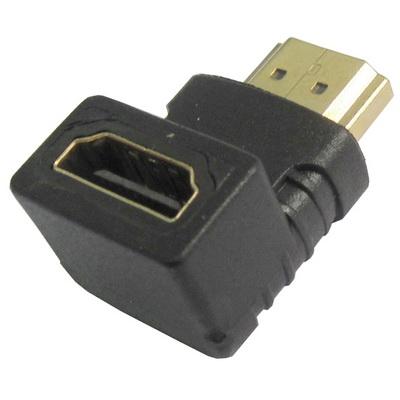 מתאם זוויתי HDMI זכר-נקבה 90  מעלות למעלה 011