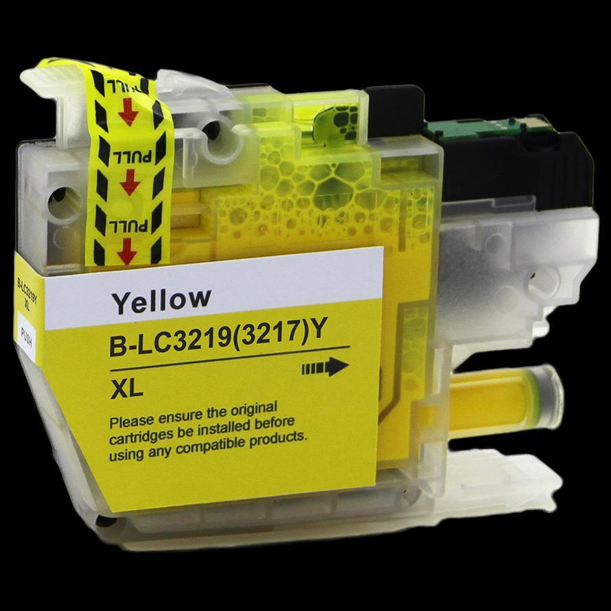דיו תחליפי BROTHER LC3219 צהוב