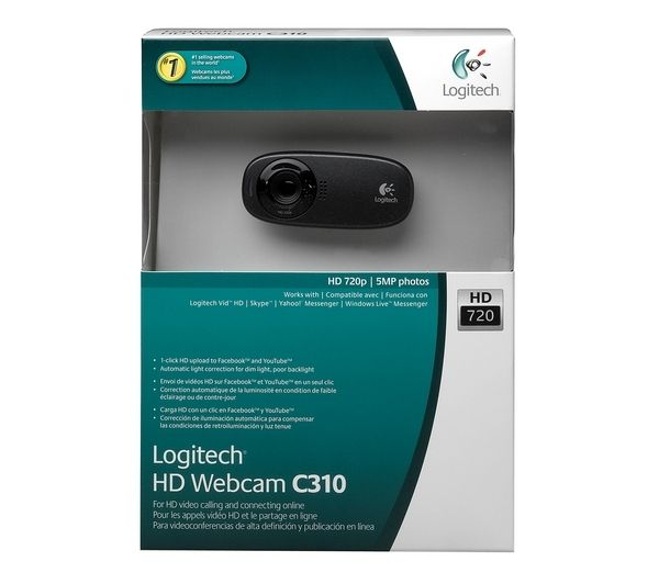 מצלמת אינטרנט LOGITECH C310