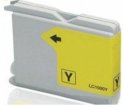 ראש דיו תחליפי צהוב BROTHER LC 1000 LC 970