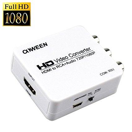 ממיר -HDMI-RCA