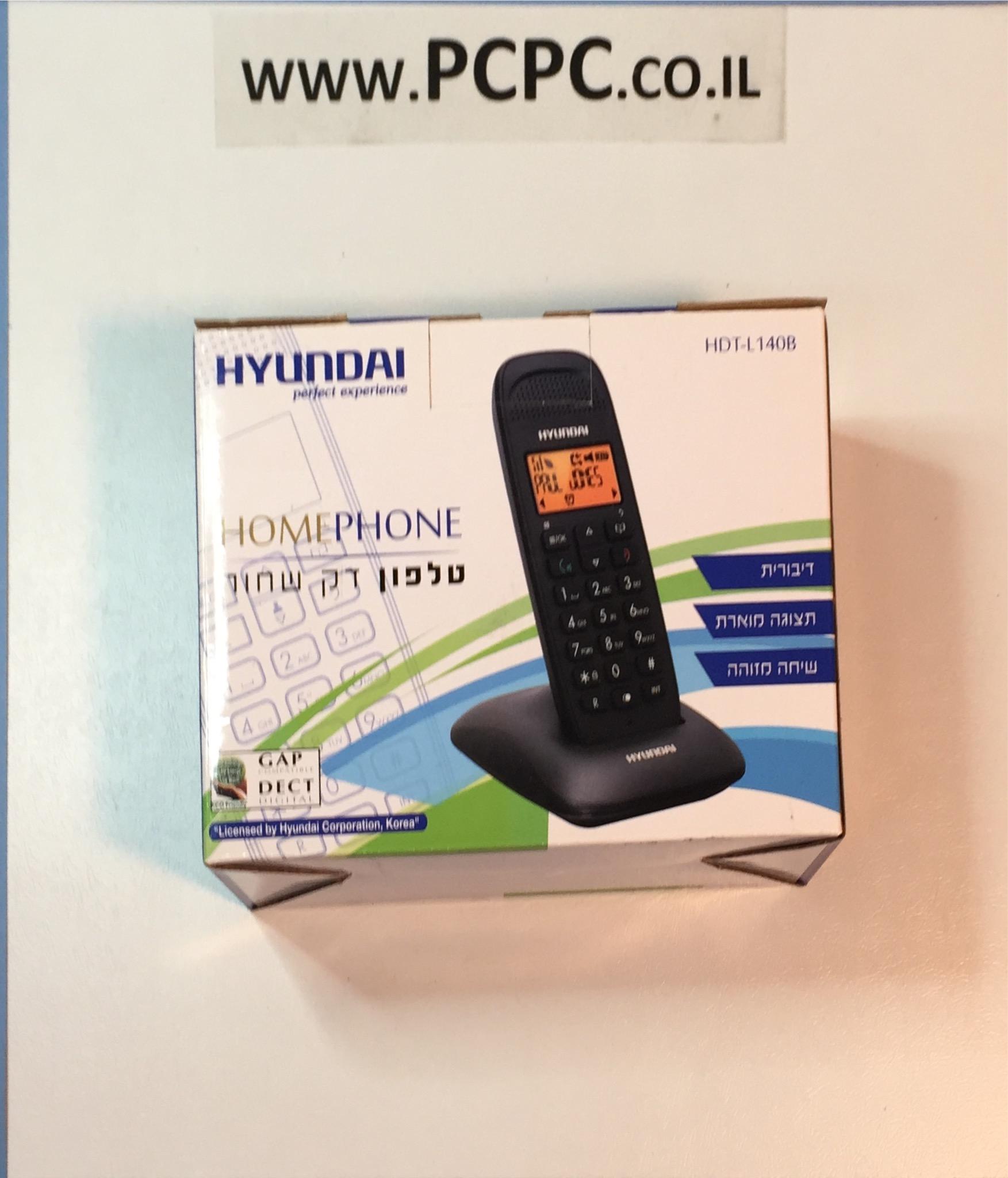 טלפון דקורטיבי שחור   HDT-L140B