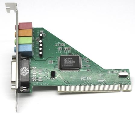 כרטיס קול 4.1 ערוצים  GOLD TOUCH   PCI