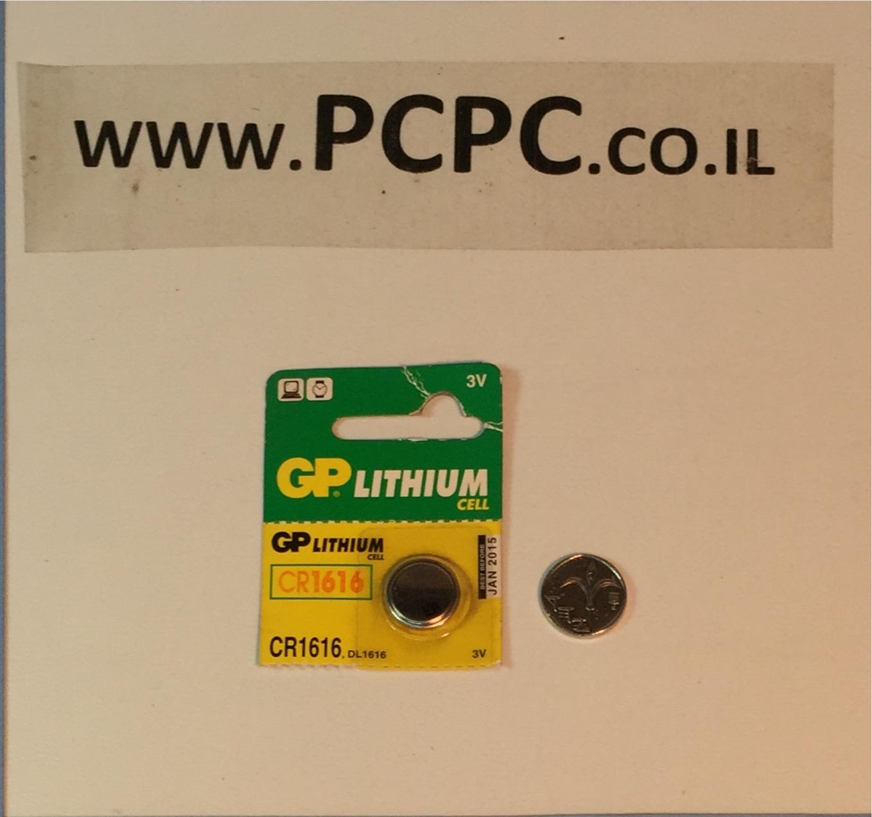 סוללה ליתיום כפתורGP CR 1616