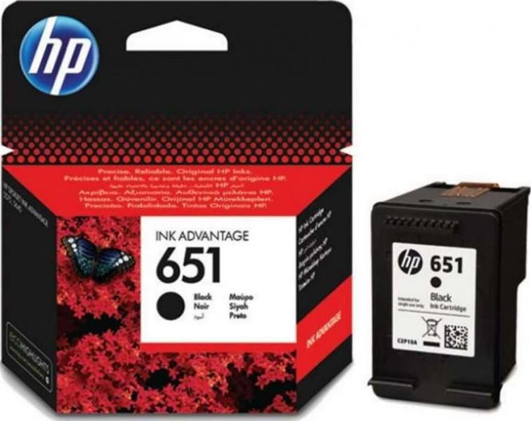 דיו מקורי HP 651  שחור