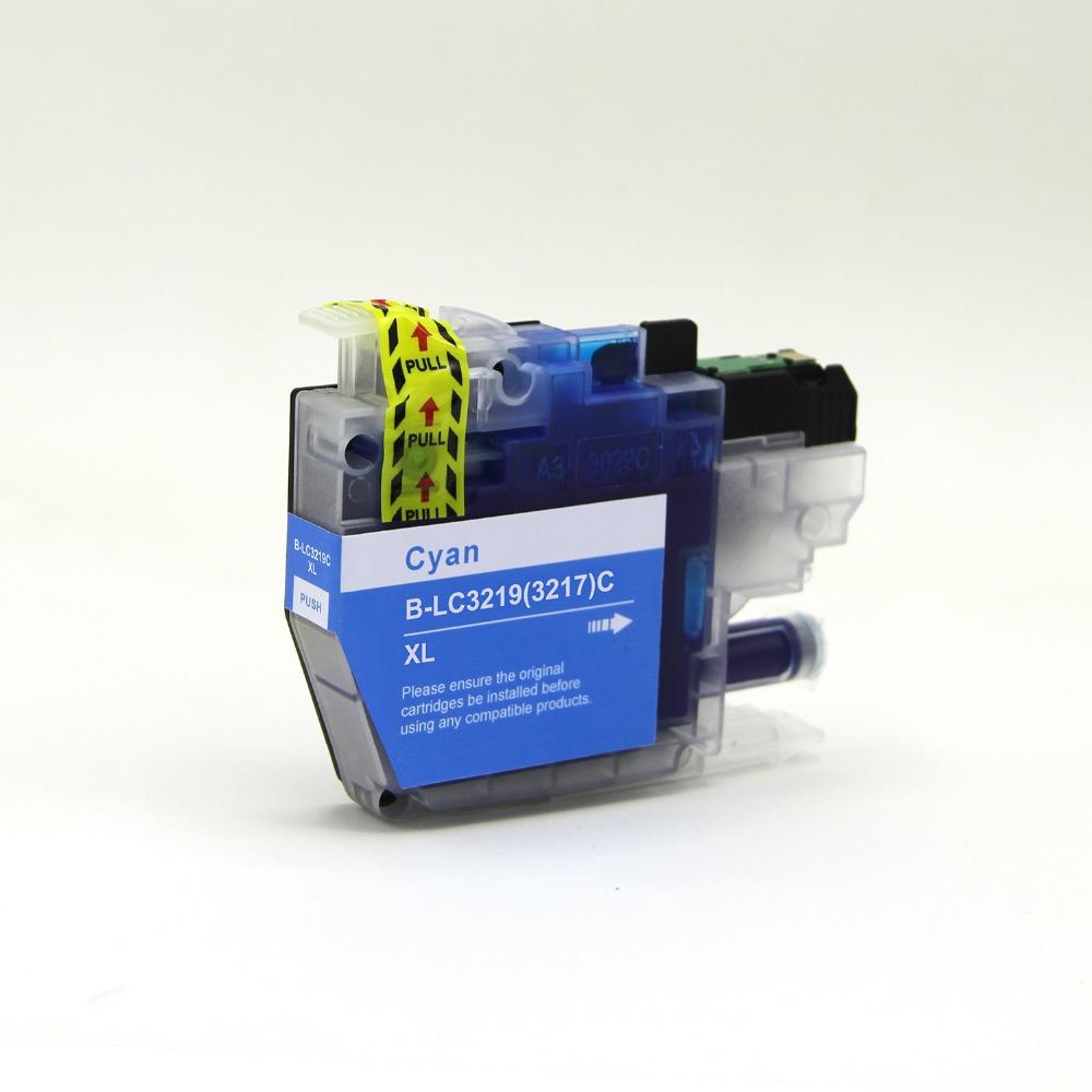 דיו תחליפי BROTHER LC3219 כחול