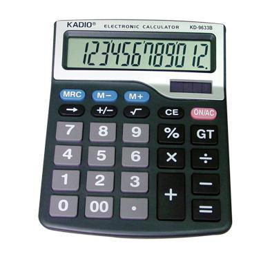 מחשבון שולחני גדול KD-9633B