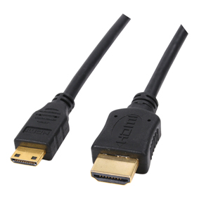 כבל HDMI ל-מיני HDMI אורך 5 מטר