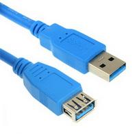כבל מאריך USB 3 זכר/נקבה  3 מטר