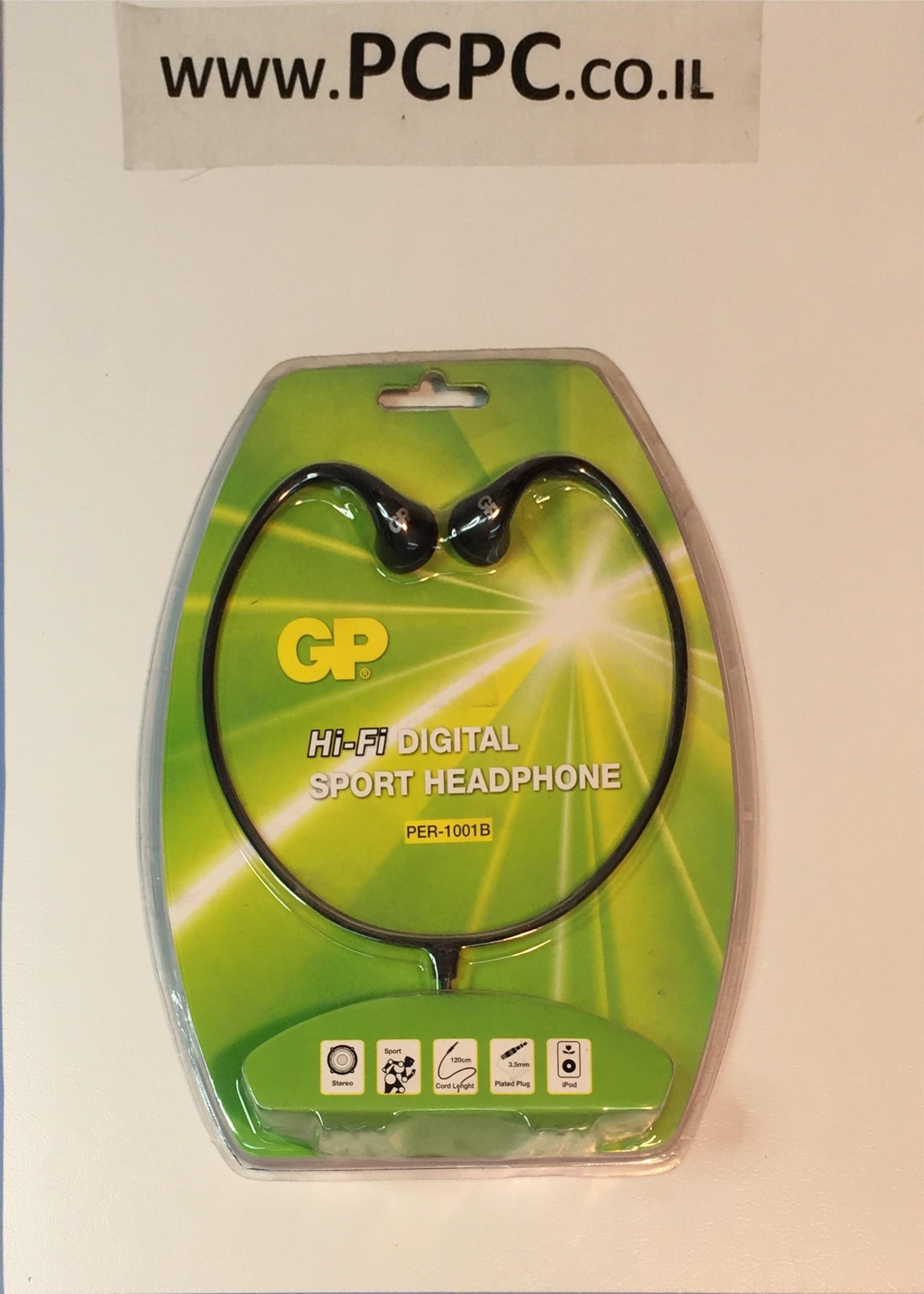 אוזניות ראש  ספורט  GP  PER-1001B