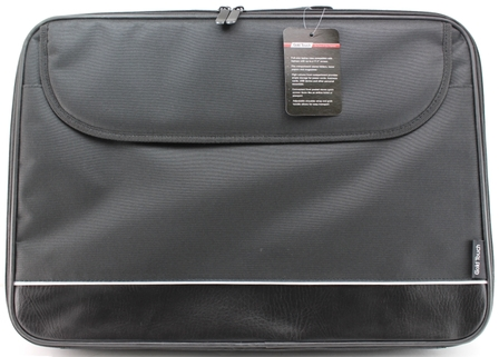 תיק מלחשב נייד  GOLD TOUCH  LAP TOP BAG 17.3 BLACK WHITE LINE